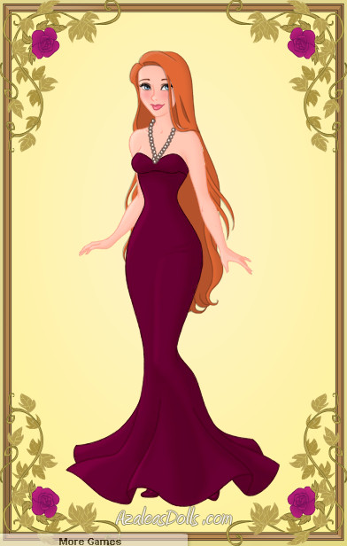 Giselle Purple Gown by zozelini
