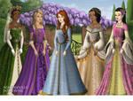 Disney Princesses, Tudor Style! (2)