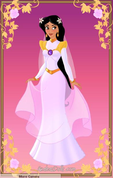 Jasmine Wedding \'Aladdin and the King of Thieves\' by zozelini on ...