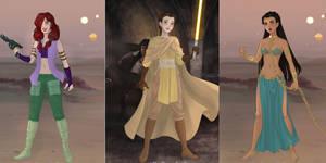 Star Wars Disney Princesses! (2)