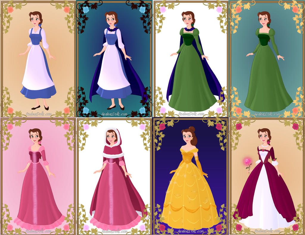 Belle S Outfits Beauty And The Beast By Zozelini On