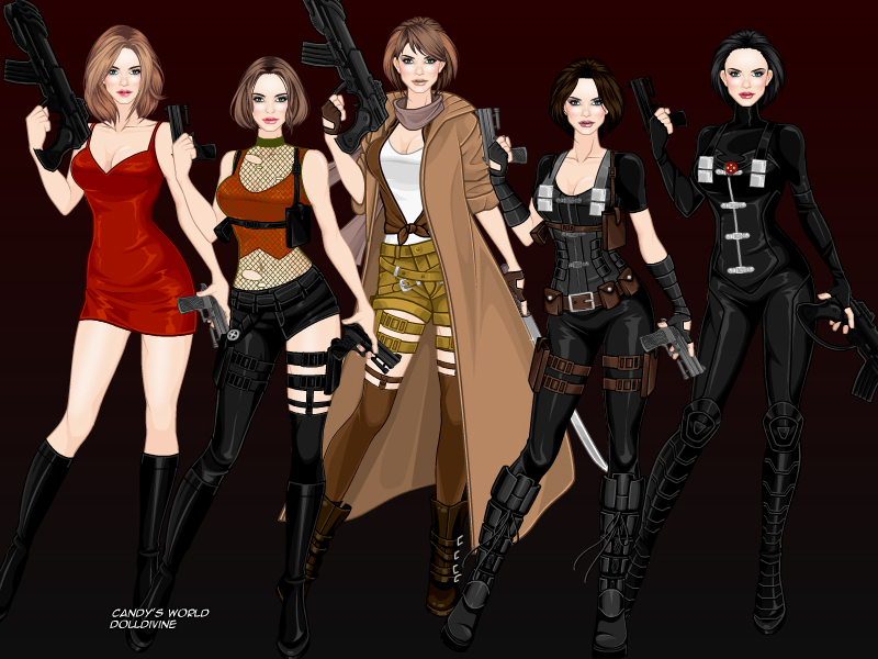 Project Alice - Resident Evil by zozelini