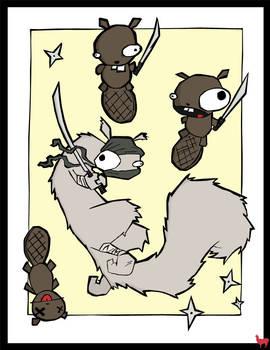 CoA - Samurai Squirrel
