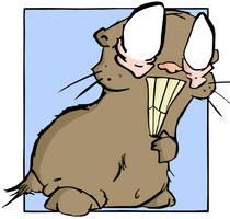 Huey Hamster by lemontea