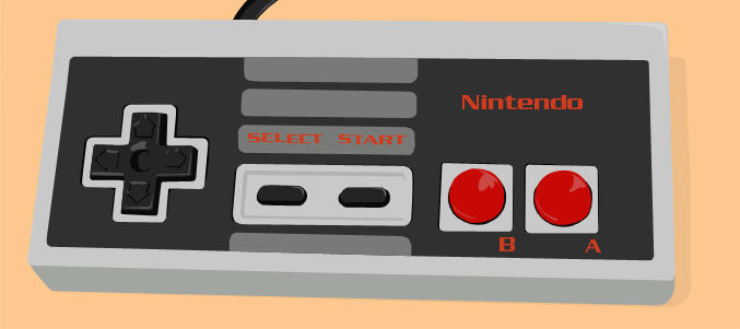 NES Controller by lemontea