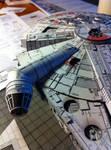 Millenium Falcon Papercraft (WIP)