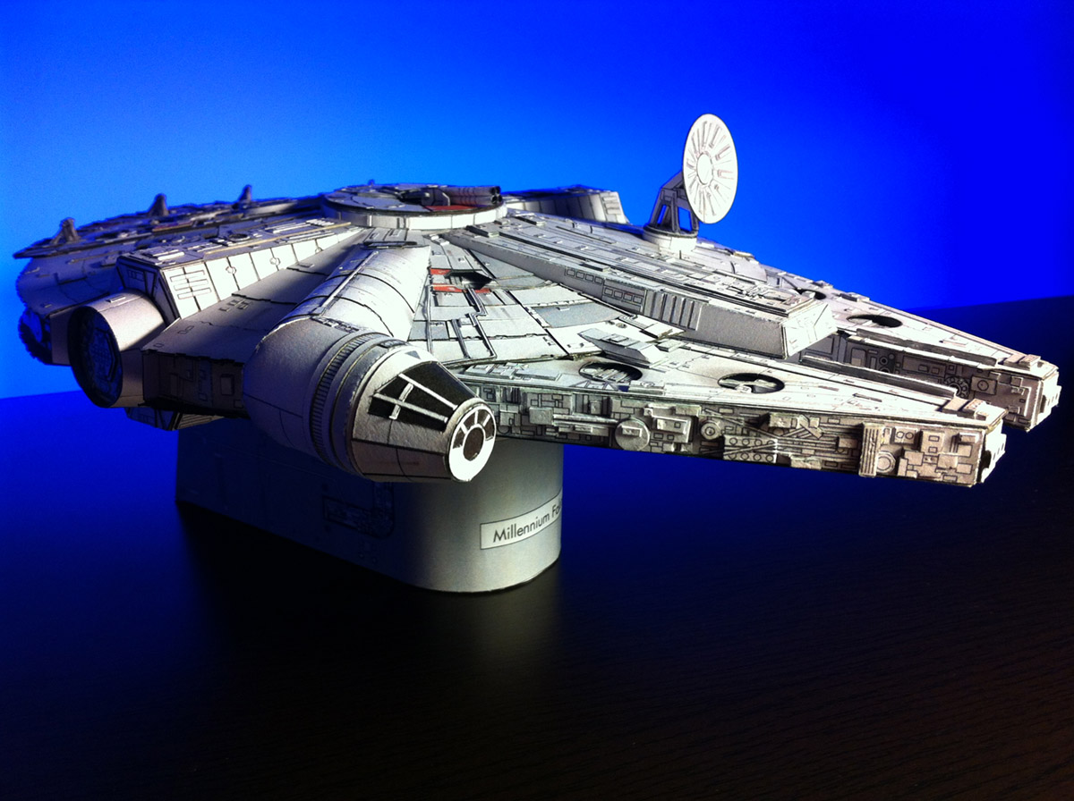 Millenium Falcon Papercraft_Final_01 by Ohnhai