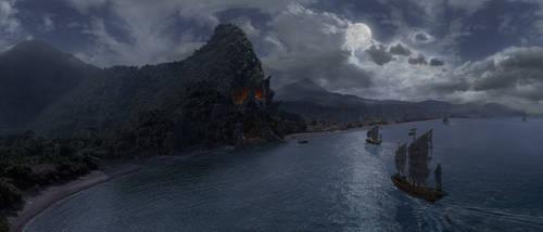 Pirates of the Night by H0stilekid