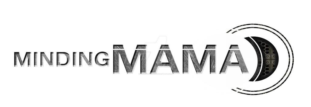 Minding Mama - logo by Amanda Fullwood by NeonSkyBooks