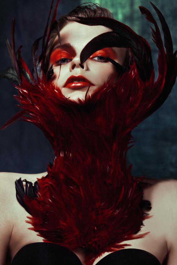 Fire orchid II by Avine