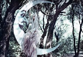 Moon dream by Avine
