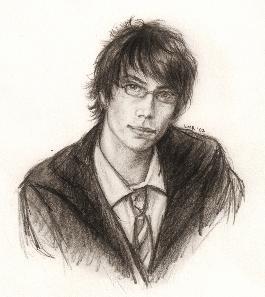 Young James Potter by LMRourke on DeviantArtYoung James Potter