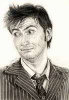 Doctor Who Tennant by LMRourke