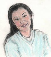 Cho Chang by LMRourke