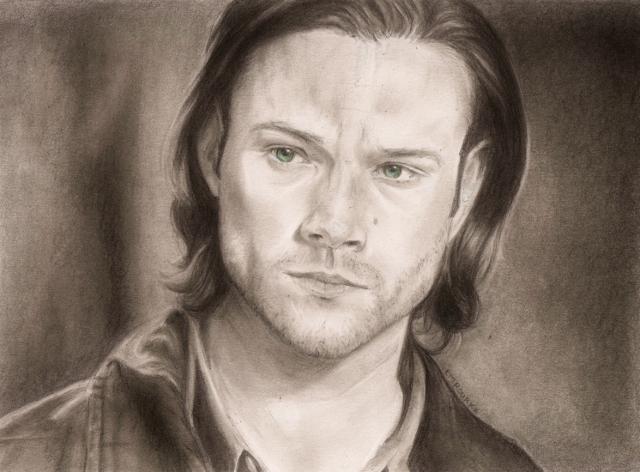 Season 9 Sam Winchester by LMRourke