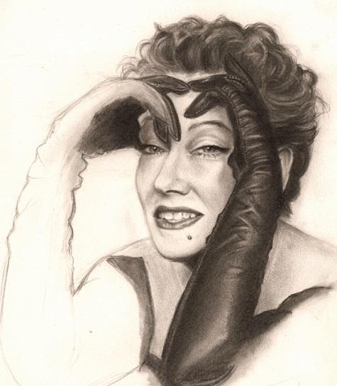 Gloria Swanson.wip by LMRourke