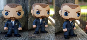 Custom Funko Pop FBI Bobby Singer by LMRourke