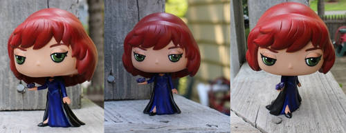 Supernatural Custom Funko Pop Rowena by LMRourke