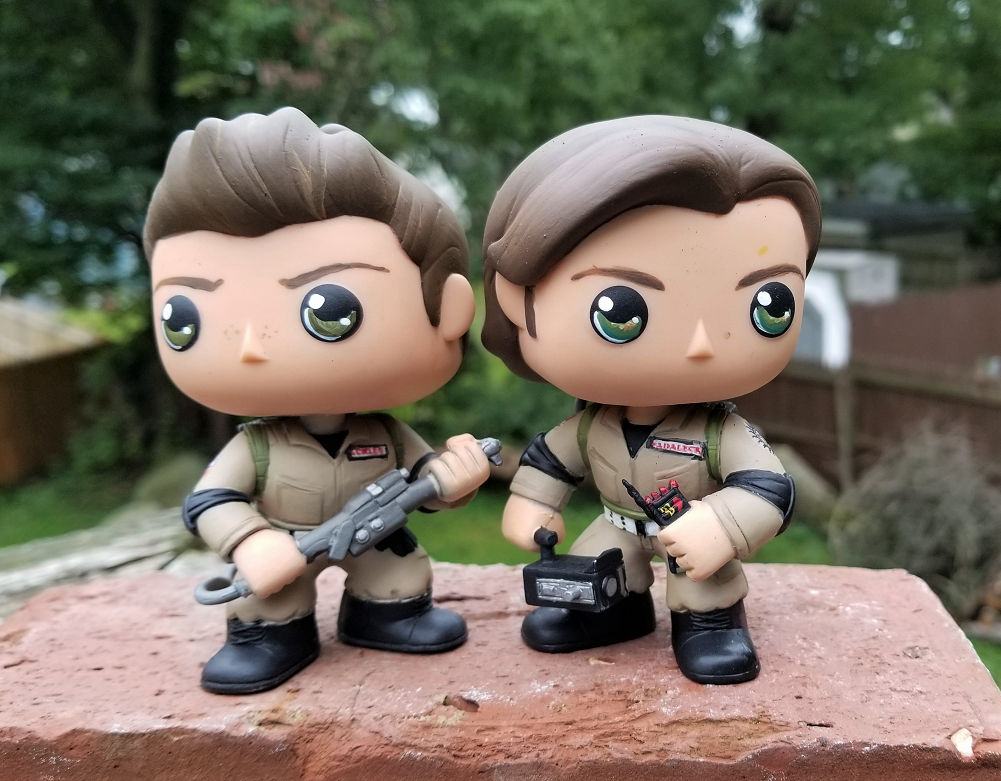 Ghostbuster Jensen  and Jared