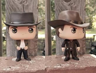 Frontierland Sam and Dean by LMRourke