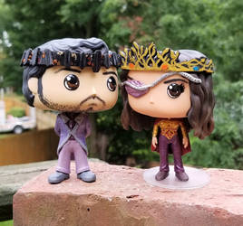 Margo and Eliot- High King and Queen of Fillory by LMRourke