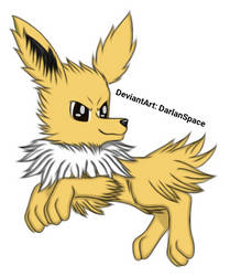 Jolteon by DarlanSpace