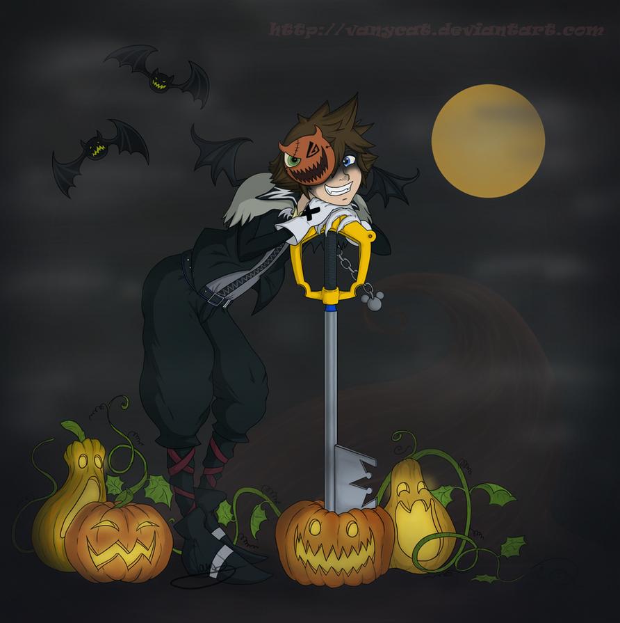 Smile like a pumpkin by VanyCat