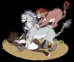 True friendship! by VanyCat