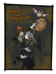 Trick or Treat ? by VanyCat