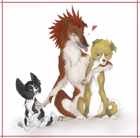 The 358/2 Trio by VanyCat