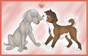 Little Dogs by VanyCat
