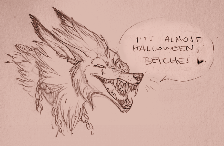 Halloween 2015 F*ck Yeah by VanyCat