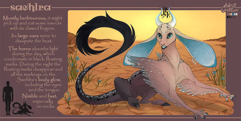 Adopt a Creature - Saehlra (Auction Closed) by VanyCat