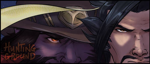 Hunting Ground Banner - Mchanzo by VanyCat
