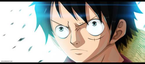 One Piece 689 - Mugiwara by Atoze