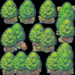 BLACK DAWN PACK: Tree 1 by Knayter