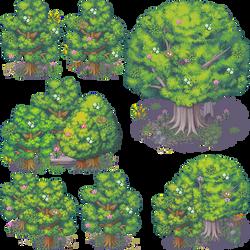 BLACK DAWN PACK: Tree 2 by Knayter