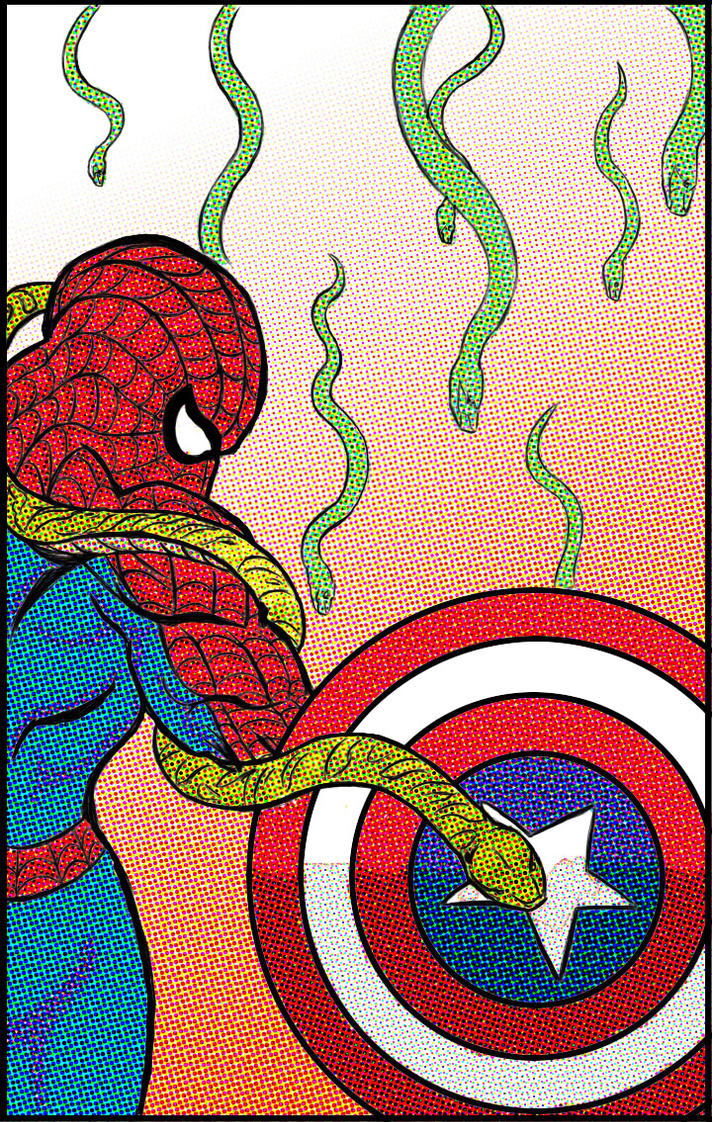 Spider Cap Snakey Thang By bumperhead/Wolfprime by bumperhead