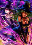 Witch Setsuna and Witch Hotaru