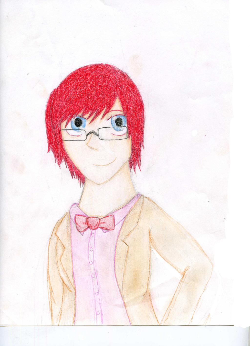 Cywren as the 11th Doctor by AnimeDogz