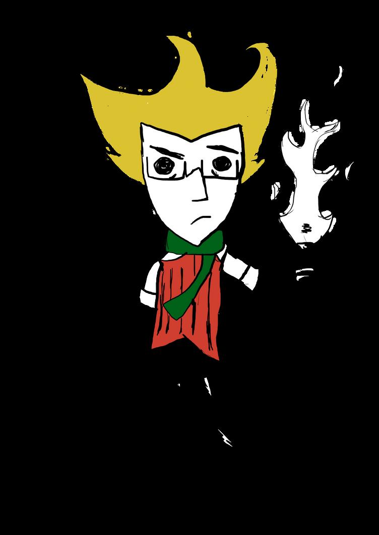 Me as Wilson by AnimeDogz