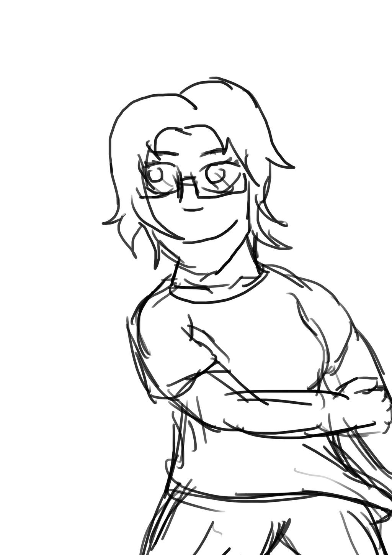 Lazy Sketch #2: AnimeDogz by AnimeDogz