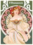 Tribute To Mucha - Art Nouveau