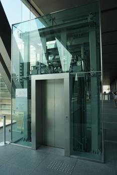 Elevator - Museum of Contemporary Art Tokyo