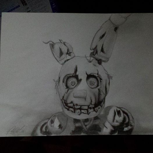 Springtrap by mba1234