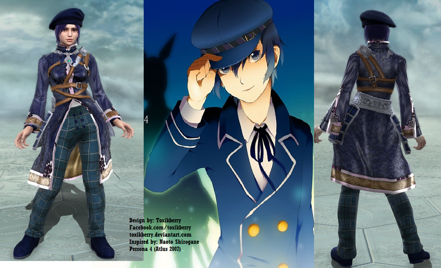 Anime Characters Soul Calibur 5 : Soul calibur creations persona naoto by toxikberry on