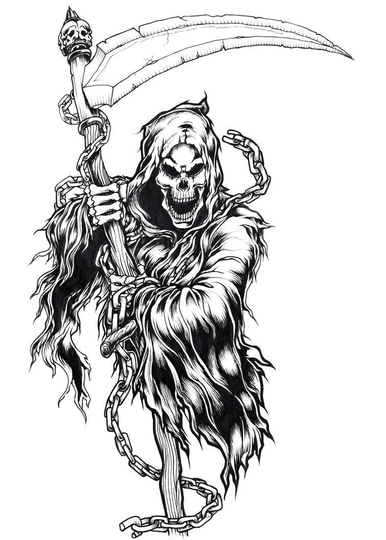 Uncategorized Reaper Drawings reaper by brown73 on deviantart brown73