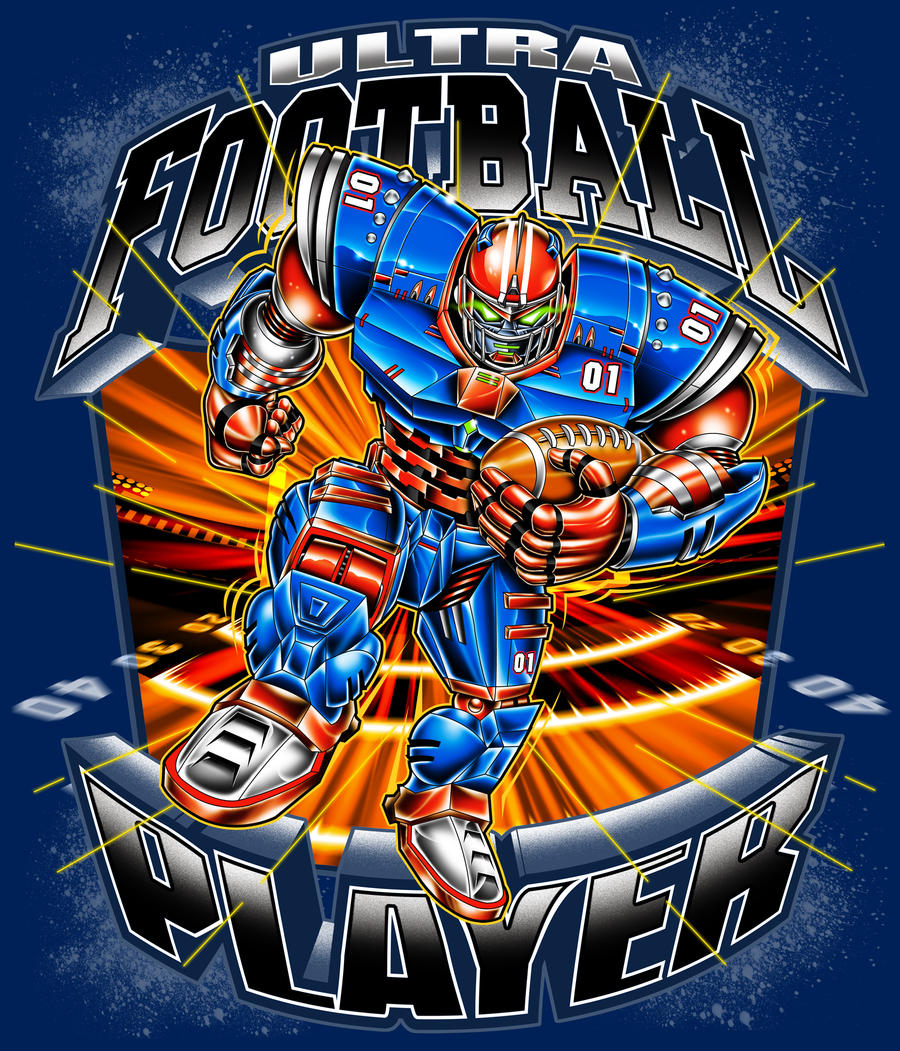 ULTIMATE FOOTBALL PLAYER by BROWN73