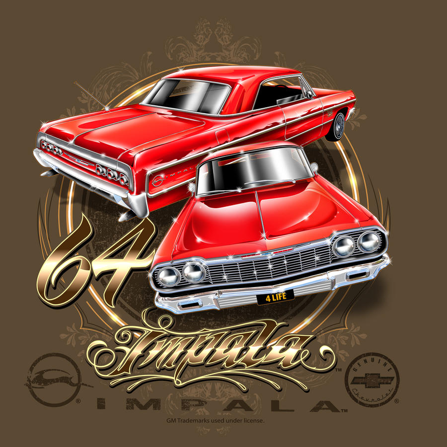 64 Impala Lowrider Wallpaper 64 Impala by Brown73 on