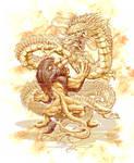 LION VS DRAGON